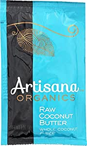 Artisana Organics - Coconut Butter, USDA Organic, Non-GMO Single Ingredient Handmade Rich & Thick Spread (10-Pack, 1.06 oz)