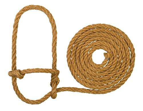 Rope Poly Halter - Weaver Leather Livestock Sisal Cow Rope Halter