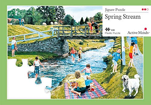 Active Minds 35 Piece Spring Stream Jigsaw Puzzle | Specialist Alzheimers/Dementia Activities & Games