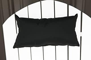 product image for Furniture Barn USA Outdoor Adirondack Chair Head Pillow in Sundown Material- Black
