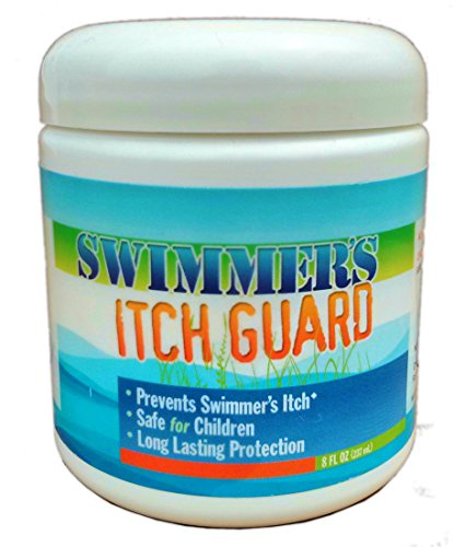 Swimmers Itch Guard Cream - Prevent Swimmers Itch, Duck Itch, Lake Itch - Repellent, 8 oz (Guard Barrier Cream)
