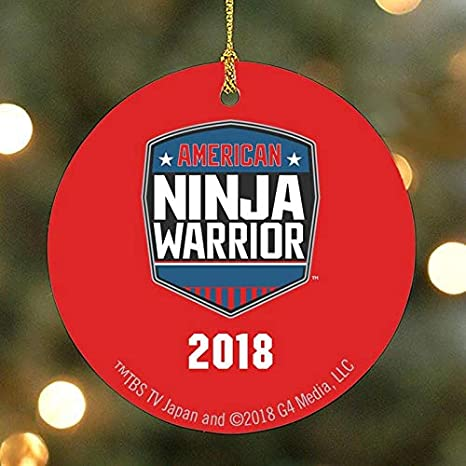 Amazon.com: American Ninja Warrior 2018 Ornament: Home & Kitchen
