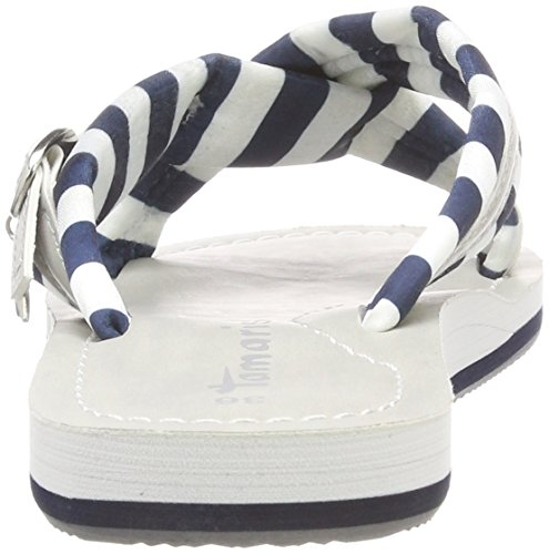 Blu Tamaris Ciabatte Donna Stripes Navy 27254 wqwPgFZY