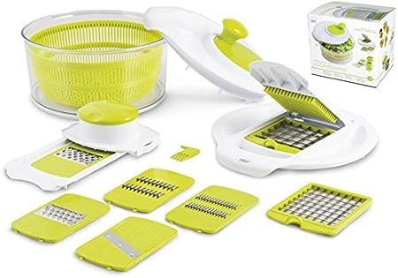 Compra Desconocido H H & Salad Green Robot de Cocina Multifunción ...