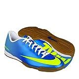 Tenis Futbol Nike Mercurial Azul/Amarillo 28.5