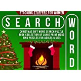 Stocking Stuffers for Women: Christmas Gift: Word Search Puzzle Book Collection of Large Print Word Find Puzzles for Adults & Kids