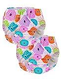 Tuga Girl's Reusable Swim Diapers 2-Pack, Lolly