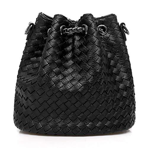 Sacs Noir épaule portés Cartable Noir bandoulière Sacs DEERWORD Sacs Cuir portés à main Sacs Femme main Sacs Faux HXzvwT