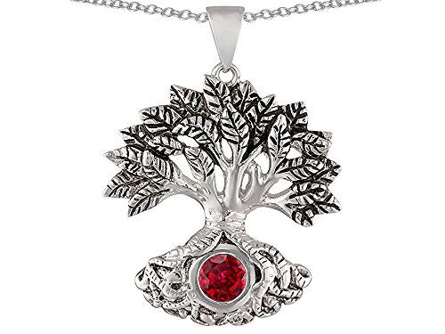 Star-KTree-Of-Life-Good-Luck-Sterling-Silver-Pendant