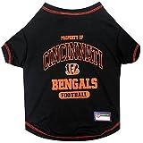 Pets First Cincinnati Bengals T-Shirt, Large