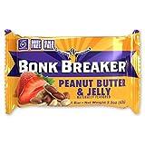 Bonk Breaker Energy Bar, Peanut Butter & Jelly, 2.2 Oz (12 Count), Gluten Free & Dairy Free