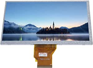 7 Inch Resistive Touch Control Screen for Raspbian/Ubuntu/Kodi - High Resolution 800 * 480 Gives HD Pictures -Supports LED Backlit Control - As PC Display Screen for XP/Win7/Win8/Win10 Systems