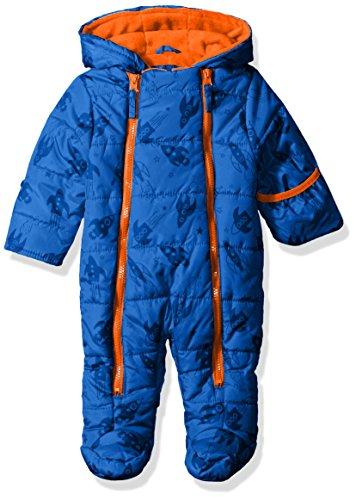 Baby Boy Fleece Pram - 4