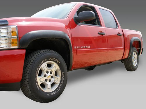 Stampede 8612-2 Black Fender Flare for Chevy Silverado