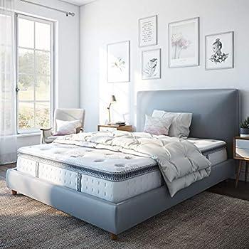 Classic Brands Mercer Pillow-Top Cool Gel Memory Foam and Innerspring Hybrid 12