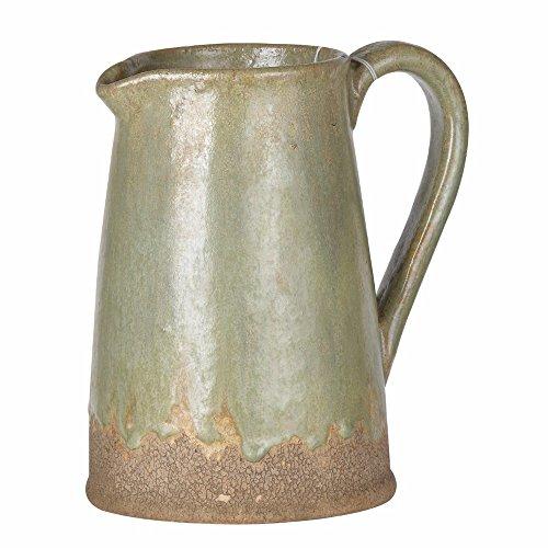 green ceramic pitchers - 2