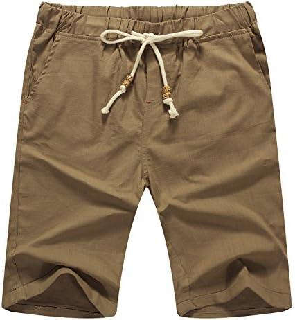 El Sr. Zhang de los hombres ropa casual Classic Fit–Pantalón corto verano playa