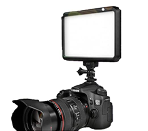 Doble recargable Powered luz fotografía luces de cámara réflex ...