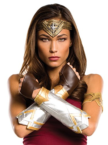 Rubie's Women's Batman v Superman: Dawn of Justice Wonder Woman Deluxe Accessory Set, Multi, One Size