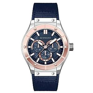 Giordano Analog Blue Dial Men's Watch-1776-05