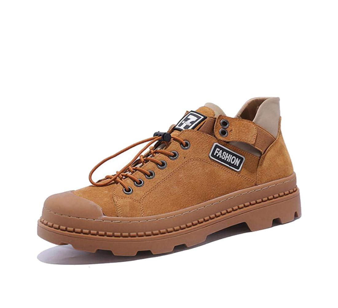 DANDANJIE Men Es Casual Martin Stiefel Outdoor-Sportstiefel Outdoor-Sportstiefel Outdoor-Sportstiefel Im Britischen Stil Schuhe,braun,41EU 8a774d