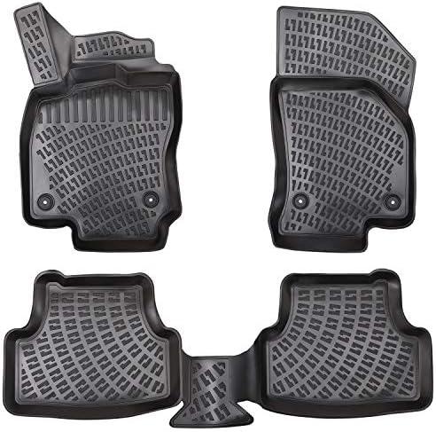 Elmasline Design 3d Rubber Mat Set For Vw Golf Extra High 5 Cm Edge Set Of 4 Auto