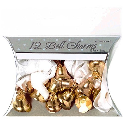 (Amscan Double Bell Charms, Wedding and Engagement Party,)