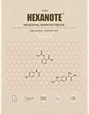 HEXANOTE - Hexagonal Graph Notebook - Organic Chemistry: 150 pages hexagonal graph paper notebook for drawing organic chemistry structures