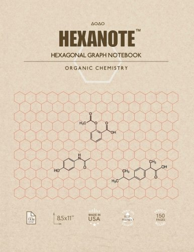 Cuaderno Hexanote 150 Paginas Quimica Organica Xsr