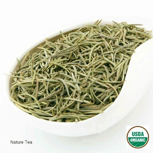 Organic Rosemary - Rosmarinus officinalis Dried Loose Leaf by Nature Tea (04 oz)