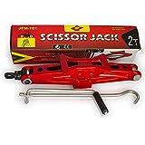 Pandamoto Car Van Mechanical Scissor Jack Lifting-2 Ton Capacity