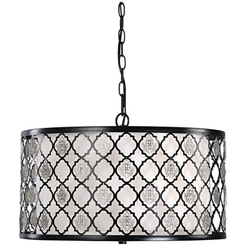 Black Filigree Lamp - 7