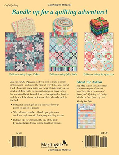 cf1f32d9d4 One Bundle of Fun: Turn Any Bundle, Roll, or Pack into a Great Quilt ...