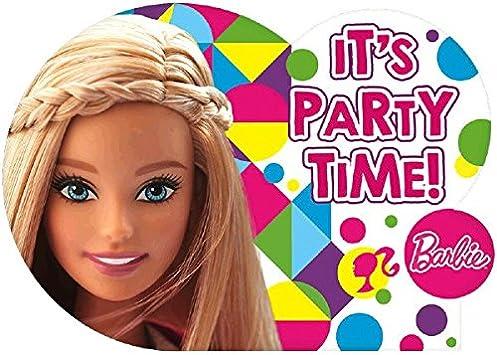 Amazon.com: Barbie Sparkle suministro Fiesta de cumpleaños ...