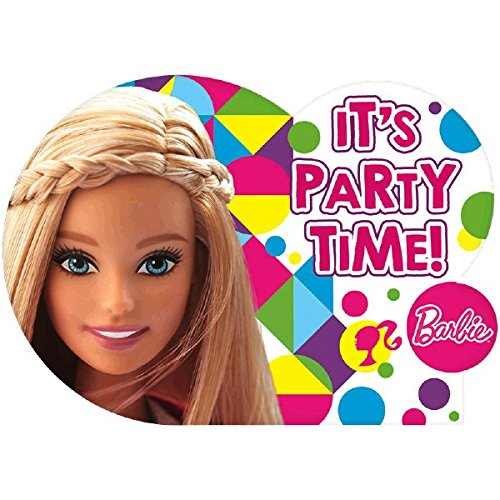 Postcard Invitations | Barbie Sparkle Collection | Party Accessory