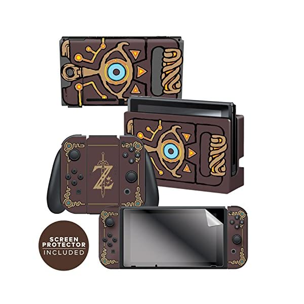 Controller Gear Nintendo Switch Skin & Screen Protector Set Officially Licensed By Nintendo - The Legend of Zelda… 1
