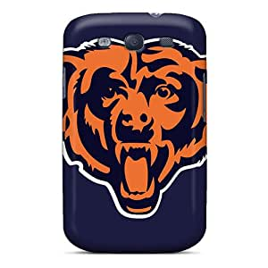 New Premium Flip Case Cover Chicago Bears Skin Case For Galaxy S3