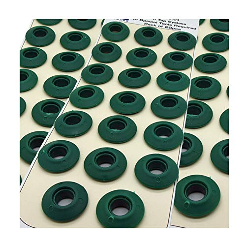 SnapnTap Langard occhielli da 12/mm verde scuro confezione da 60 pezzi