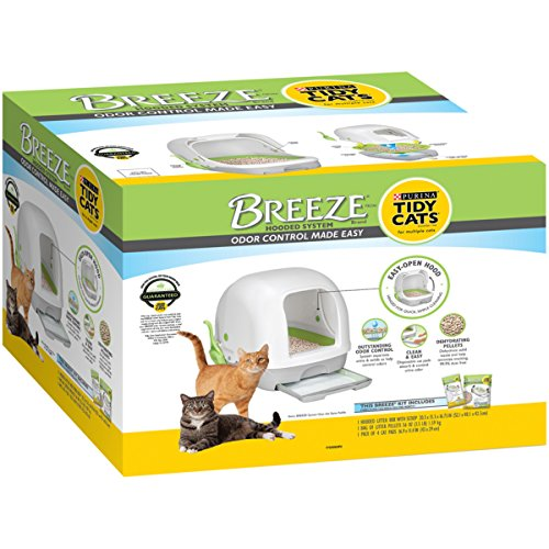 eze Hooded Litter System Kit, 10.37 lb (Breeze Kit)