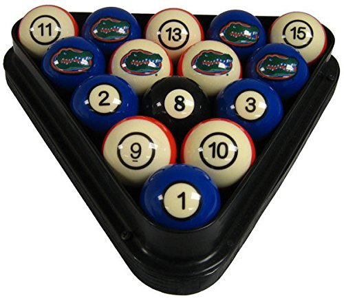 Wave 7 Technologies Florida Gators Billiard Ball Set - NUMBERED (Set Billiard Ball Florida)