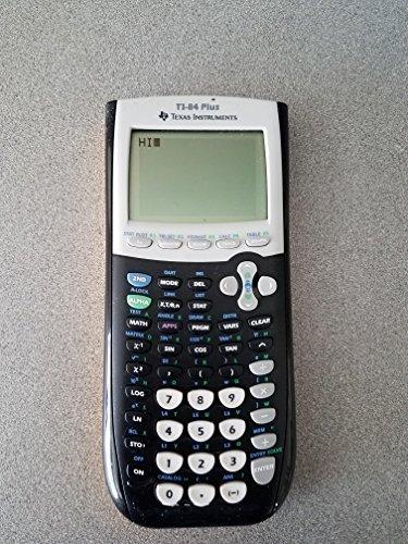 New TI-84 Plus Graphic Calculator Texas Instruments TI84 + Graphing by Texas Instruments