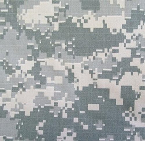 ACU Universal Nomex® Aramid Ripstop Camouflage Fire Retardant Fabric | 63' Wide, 9oz/linear Yard- BTY
