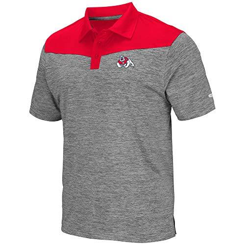 Mens Fresno State Bulldogs Polo Shirt - L