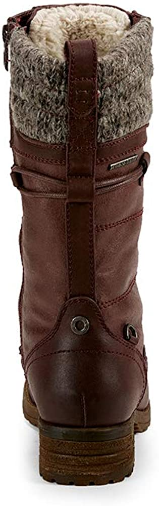 4 Colours to Choose. Creekside Womens Vegan Leather Wool Winter Boots Fur Lining Yellow Shoes