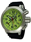 German bigsize Alarm and GMT watch Swiss movement stainless steel T0305PU