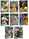 2013 & 2014 Topps Oakland Athletics Baseball Card Team Sets (Complete Series 1 & 2 From Both Years )