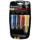 Brush-T Multi-Pack of 4 Golf T