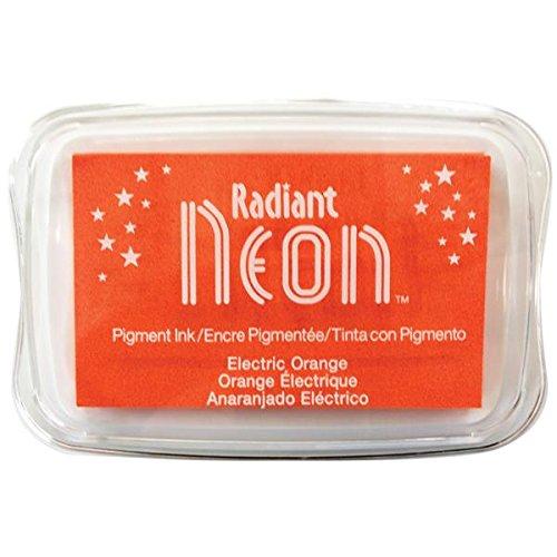 Radiant Neon Ink Pad-Electric Orange (並行輸入品) B00JX1KALG