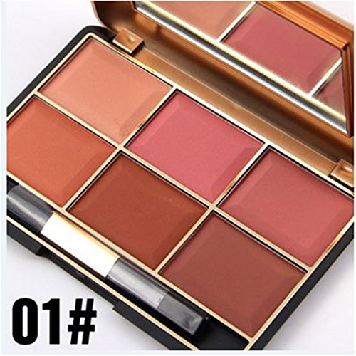 Pure-Vie-Professional-6-Colors-Cream-Blush-Pressed-Face-Powder-Makeup-Palette-Contouring-Kit-Ideal-for-Professional-as-well-as-Personal-Use