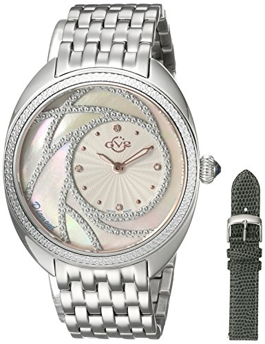 GV2-by-Gevril-Womens-Ancona-Swiss-Quartz-Stainless-Steel-Casual-Watch-ColorSilver-Toned-Model-3700